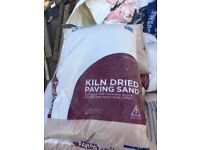 28 bags available kiln dried sand £3 each
