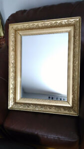 Antique 1930s Wall Mirror - Beautiful Condition