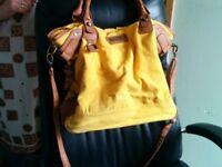 River island Bag in Yellow