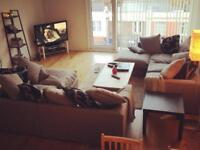 Grey corner sofa(s)
