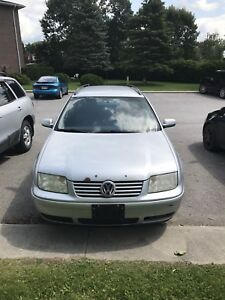 2005 VW Jetta Station wagon GLS Manual trans