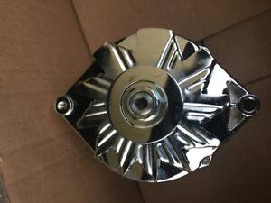 One wire Chevy Chrome Alternator