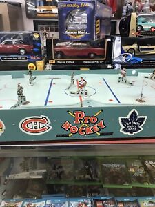 VINTAGE 1950s Original 6 TOYS TABLE PRO HOCKEY GAME