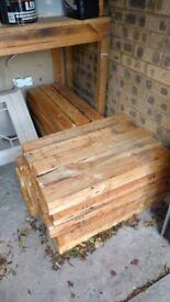 Sawn Timber - ideal firewood