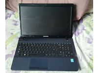 15.4 samsung laptop. Could deliver 4gb ram. 440gb hard drive