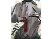 Boys age 10 grey Paige boy suit