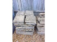 Flagstone patio slabs - Free for collection only