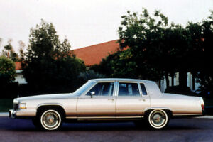For sale, 1980-1992 cadillac fleetwood brougham parts.