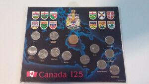 SÉRIES COMPLÈTES de 25 cents 1992 et 2000 CANADA