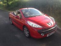 2007 Peugeot 207cc Cabriolet 84k 1.6 starts and drives, needs gear box