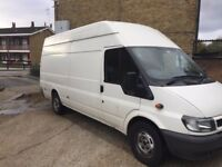 ONE PREVIOUS OWNER FORD TRANSIT LONG WHEEL BASE - LWB HIGH TOP JUMBO VAN FOR SALE FULL HISTORY