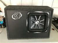 """KICKER L7 10"""" 10 INCH with OFFICIAL TRUCK BOX & NEW 2000W SOUNDSTORM AMP"""