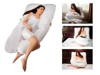Maternity pillow and nursing cushion