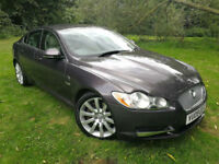 2009 Jaguar XF Premium Luxury 3.0 TDV6 Metallic Grey Ivory Leather Huge Spec