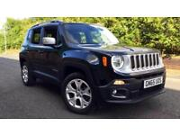 2015 Jeep Renegade 2.0 Multijet Limited 5dr 4WD Automatic Diesel Hatchback