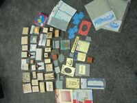 Craft joblot 135 rubber stamps ideal card making scrapbooking embossing stencils most BN!