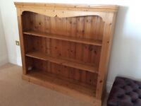 Large pine book shelves for sale