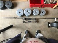 Set of York resin weights