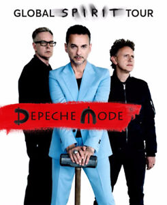 DEPECHE MODE RED SECTION ROUGE 112**SEPTEMBRE 2017* CENTRE BELL