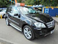 2011 11 MERCEDES ML350 SPORT 3.0 CDI BLUE F AUTO IN BLACK # TOP SPEC COMMAND #