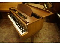 Kemble baby grand piano. Delivery available UK wide and turned to concert pitch.
