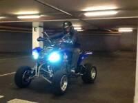 Yamaha raptor 660 monster quad bike off road on road