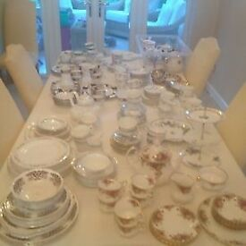 Lots of expensive vintage china - over 200 pieces!