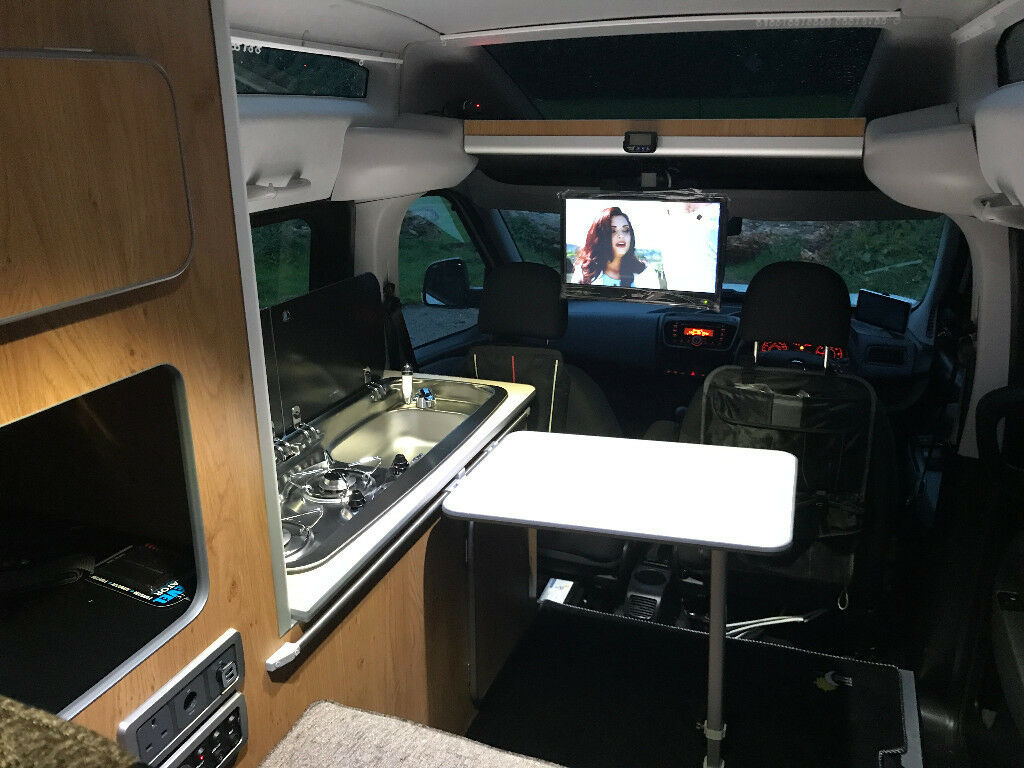 2017 17reg NEW Fiat Doblo SX XL 2 or 1+Toilet berth Highroof Long 1.6 TD Camper Van motorhome small