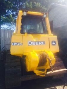 JOHN DEERE DOZER, CASE 580 BACKHOE, TRACTOR, TRAILERS FOR SALE!