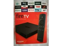 Amazon Fire TV with 4K Ultra HD Boxed Like new