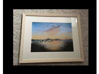 Isle of wight image with frame
