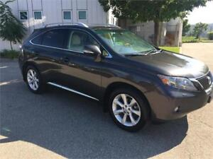 2010 LEXUS RX350 LEATHER SUNROOF NAVIGATION CAMERA 83KM