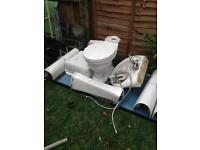 Job lot toilets,sinks etc