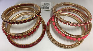 5 piece bracelet sets from Claire's
