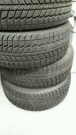 215 55 16 winter tyres x4