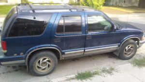 01 chevy blazer for parts