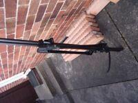 thule bike rack with key