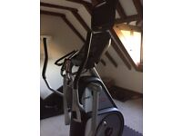 High-end gym-quality elliptical with digital screen - great condition