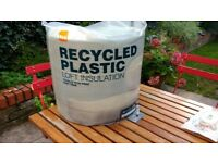 Recycled Plastic Loft Insulation