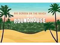 x2 tickets to the Big Screen Camden Round House Beach - Lion 23/07/2017