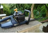 Petrol hedge cutter made by pro