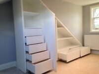 Hansfords Bespoke Interiors - Hand made, fitted furniture; wardrobes, alcove, shelving, storage etc