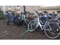 adult BIKE SALE ALL £35 each all in good condition M/ BIKES AND HYBRID BIKES