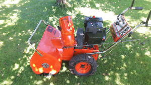 SOUFFLEUSE COLUMBUA 10HP TRES BONNE CONDITION