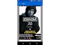 EMINEM 24th August 1 ticket BELLAHOUSTON PARK