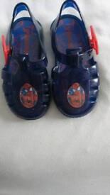 Spider man sandals