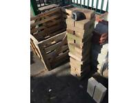 37 reclaimed standard block pavers