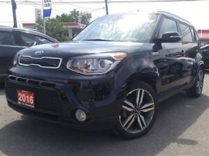 2016 Kia Soul SX Lux |NAVI|VENTILATED SEAT|PANO ROOF|LDWS