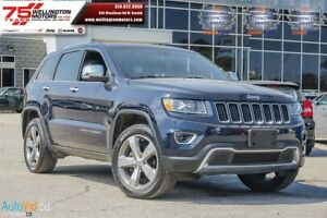 2014 Jeep Grand Cherokee Limited      LEATHER | REV-CAM | SUNROO