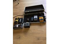 Guitar pedal; Board wih Power supply Delay Chorus reverb and Tuner Plus Carrycase